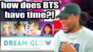 BTS - Dream Glow (Feat. Charli XCX)  [Color Coded Lyrics/Han/Rom/Eng/가사] Reaction!!!