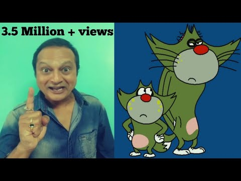 Man behind voices of Oggy and Cockroach in hindi/urdu  - Sanjey Keni - Real Voices