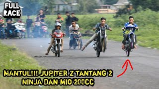 Video JUPITER Z TANTANG 2 NINJA DAN MIO 200cc MP3, 3GP, MP4, WEBM, AVI, FLV September 2019