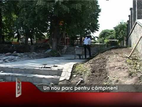 Un nou parc pentru câmpineni