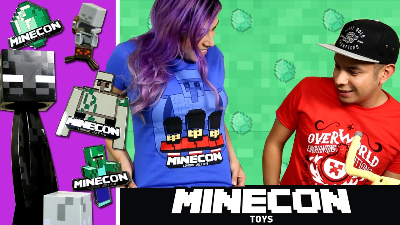 Minecon TOYS! – Minecraft exclusive toys