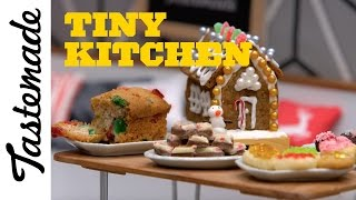 Tiny Christmas Gingerbread House | Tiny Kitchen by Tastemade