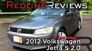 2012 Volkswagen Jetta S 2.0 Review, Walkaround, Exhaust,&Test Drive