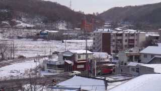 Asan-si South Korea  city images : SNOWFALL -ASAN SI,S.KOREA 2013 NOV: