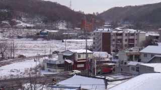 Asan-si South Korea  city photos : SNOWFALL -ASAN SI,S.KOREA 2013 NOV: