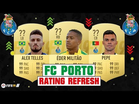 FIFA 19 | FC PORTO RATING REFRESH 😳💯| FT. EDER MILITAO, ALEX TELLES, PEPE... Etc