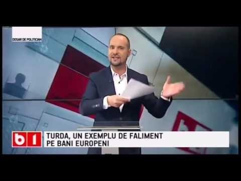 B1 TV : Jaf public la Turda de către Primarul Tudor Ștefănie