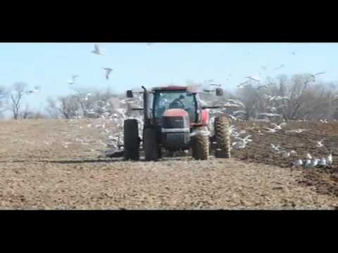 Tilling the fields in Franklin Township