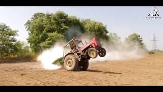 Kto nie skacze ten zamula! – Zobacz jak rolnicy szaleją na traktorach!