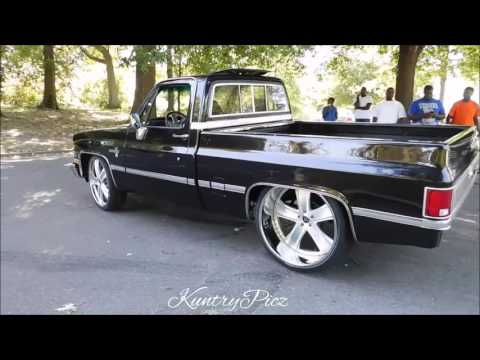 Chevrolet C10 old-school on rucciforged wheels Memphis whips