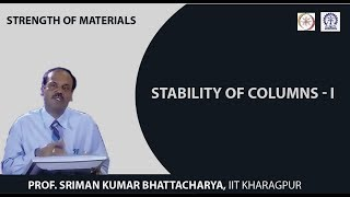Lecture - 37 Stability Of Columns - I