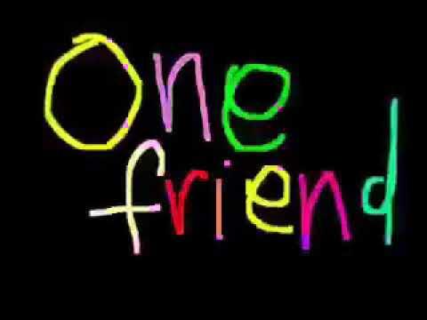 One friend (lyrics)- Dan Seals
