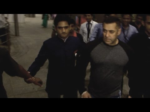 Salman Khan Gets Angry At Airport When Asked About