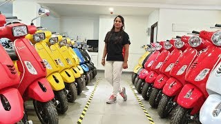 6. 2019 Vespa Scooter All Color,Variants,Price&Specs Explained by Executive|Detail Walkaround Video