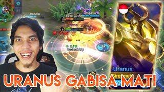 HERO BARU URANUS - TANK TEBEL GABISA MATI - MOBILE LEGEND INDONESIA