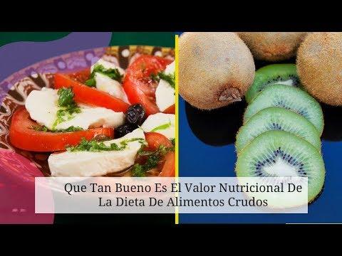 Dietas para adelgazar - Que Tan Bueno Es El Valor Nutricional De La Dieta De Alimentos Crudos