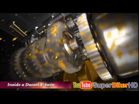All Ducati Engine Technology 3D Animation Compilation