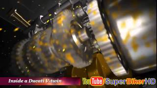 Download Video All Ducati Engine Technology 3D Animation Compilation MP3 3GP MP4