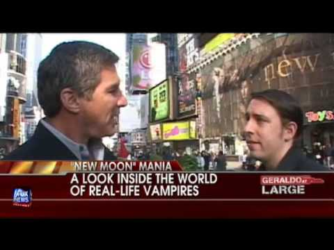 VVCVideo - Geraldo At Large - FOX News Channel - November 22, 2009 - Real Life Vampires - Interviews with Joseph Laycock (Author of