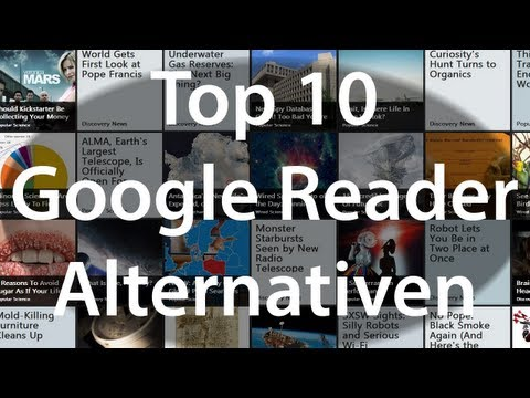 Top 10 Google Reader Alternatives