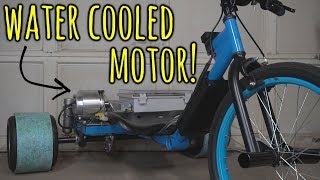 Making a Water Cooled Electric Drift Trike