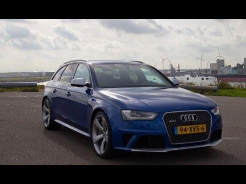 Audi RS4 Avant 2012 review (B8)