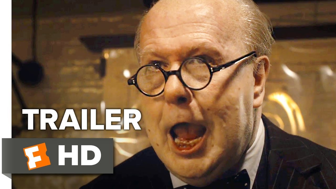 Winston Churchill Wasn't Their First Choice But He Became Their Last Hope in 'Darkest Hour' (International Trailer) with Unrecognizable Gary Oldman as Churchill