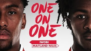 Video Ainsley Maitland-Niles and Alex Iwobi | One on One MP3, 3GP, MP4, WEBM, AVI, FLV September 2018