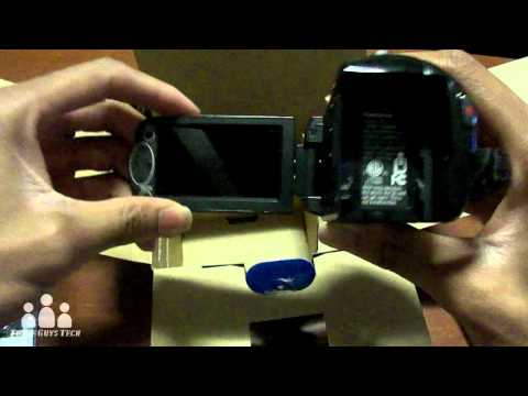 Panasonic HDC-SD40 Camcorder Unboxing!