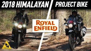 2. First Ride 2018 Royal Enfield Himalayan Motorcycle | TwistedThrottle.com