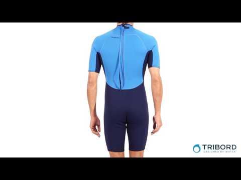 Neoprene Shorty 100 Masculino Tribord - Exclusividade Decathlon