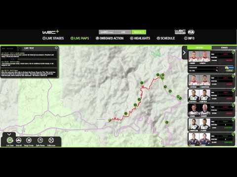 Vídeo cómo utilizar Live Maps en WRC+ 2015