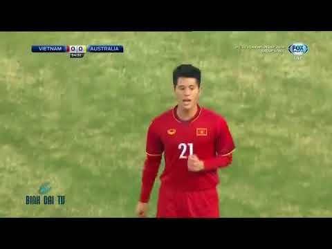 U23 Châu Á 2018: U23 Việt Nam - U23 Australia: Hiệp 2 - Thời lượng: 51:54.