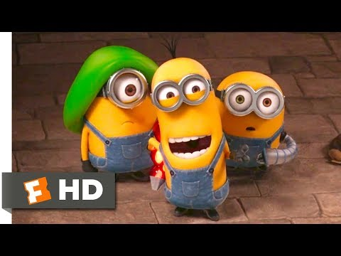 Minions - Hypnotizing The Guards Scene (4/10) | Fandango Family