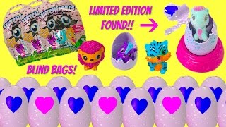 HATCHIMALS CollEGGtibles LIMITED EDITION FOUND Blind Bags Egg ...