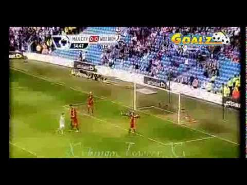 Manchester City 1-0 West Bromwich Albion (all Goals and highlights) 09/05/2013 HD