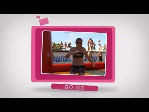 Заставка   Пляжный Fitness Fest WMV 2Mbps N F (видео)
