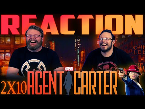 """Agent Carter 2x10 FINALE REACTION!! """"Hollywood Ending"""""""