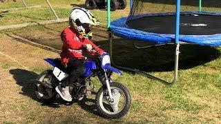 4. Yamaha PW 50 youth motocross bike