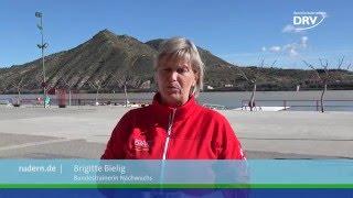 Die U23-Rudernationalmannschaft trainiert gemeinsam im spanischen Mequinenza und bereitet sich auf die Saison 2016 vor.