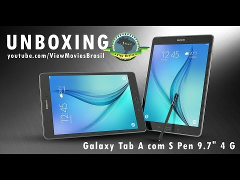 Unboxing Tablet Samsung Galaxy Tab A 9,7