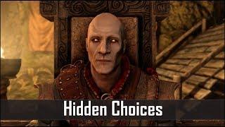 Video Skyrim: 5 Secret Choices You Didn't Know You Had in The Elder Scrolls 5: Skyrim MP3, 3GP, MP4, WEBM, AVI, FLV Juli 2019