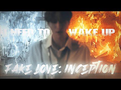 ATEEZ, BTS - 'FAKE LOVE: INCEPTION' MV [MASHUP]