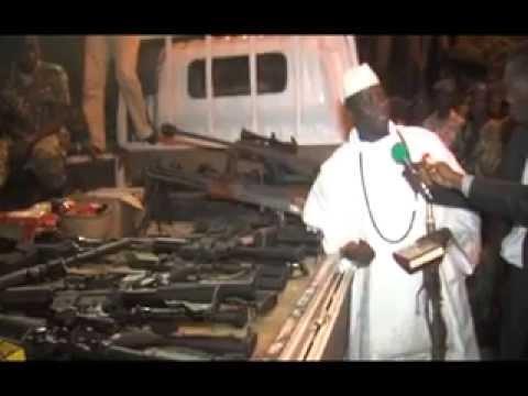 President Jammeh speaks on Terror Attack