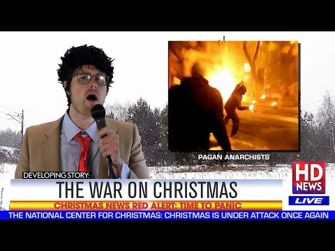 Watch Hot Dad Hilariously Satirize The War On Christmas In His Latest Music Video