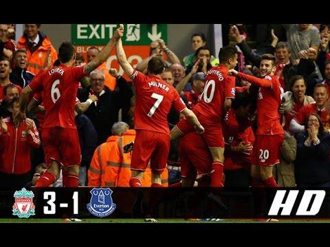 Liverpool vs Everton 3-1 All Goals & Highlights (Premier League) 01-04-2017