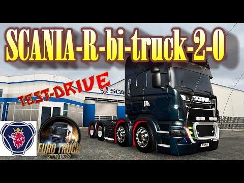 Scania R bi-truck v2.0 by Conbar
