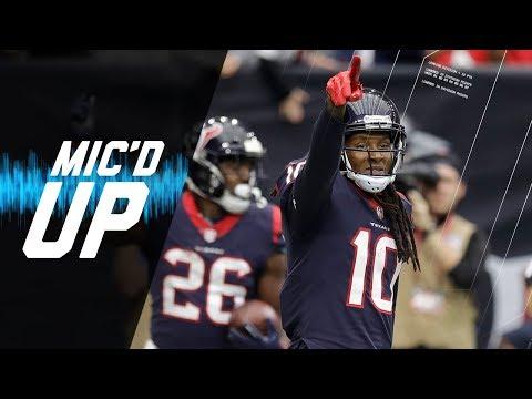 Video: DeAndre Hopkins Mic'd Up vs. Cardinals