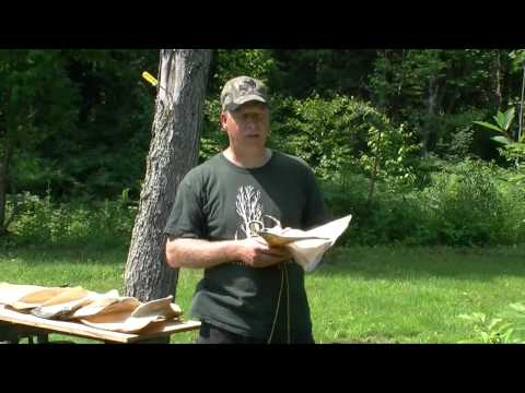 Préparation et utilisation du call d'orignal omoplate