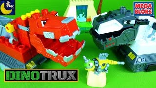 Video NEW Dinotrux Mega Bloks Toys with Mega Construx Ty Rux D-Structs Revvit Building Dinosaur Toys MP3, 3GP, MP4, WEBM, AVI, FLV Juli 2018